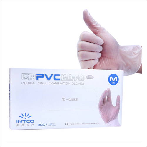 PVC Medical Vinyl Examination Gloves