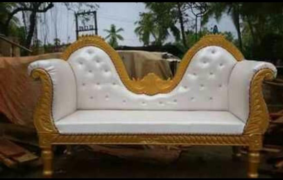 Wooden Vintage Sofa