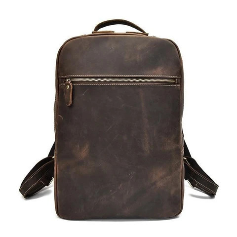 Buffalo Leather Backpack Bag