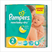 New Born Pampers Diapers