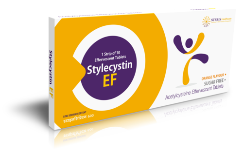 N-Acetylecystine Effervscent Tablet 600 mg