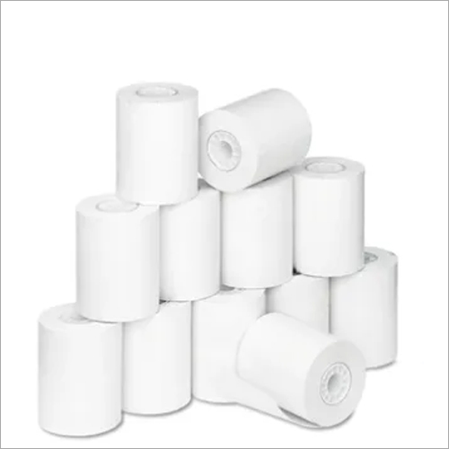 57 mm By 60 mtr Plain 48 GSM Thermal Paper Roll