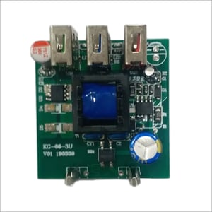 3 USB Port PCB For Charger