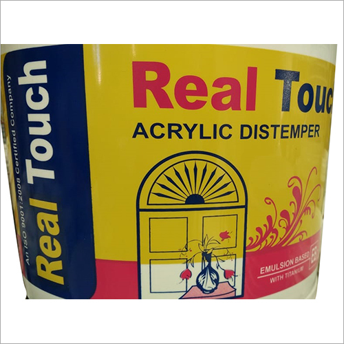 Real Touch Acrylic Distemper