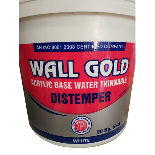 Wall Gold Acrylic Base Water Thinnable Distemper
