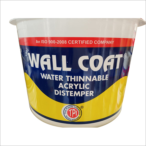 Wall Coat Water Thinnable Distemper