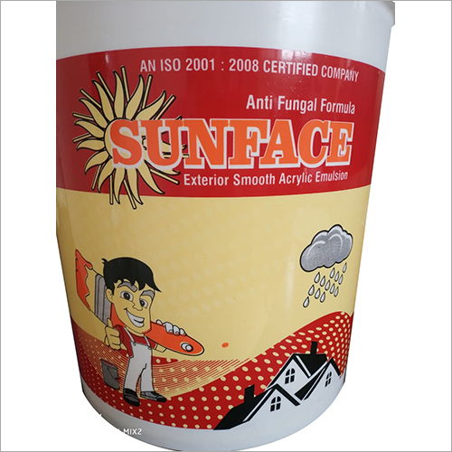 Sunface Exterior Smooth Acrylic Emulsion