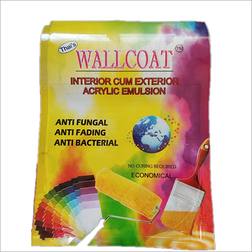 WALL COAT Interior Cum Exterior Acrylic Emulsion