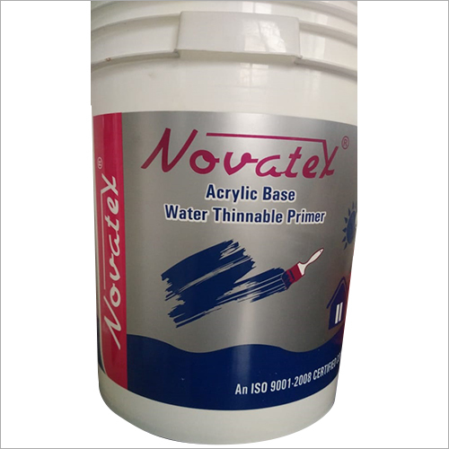 Acrylic Base Water Thinner Primer