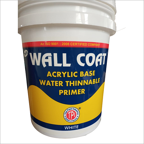 Acrylic Base Water Thinnable Primer