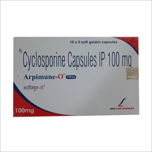 100 MG Cyclosporine Capsules IP