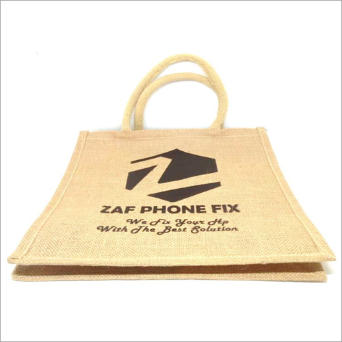 Personalised Printed Jute Bag