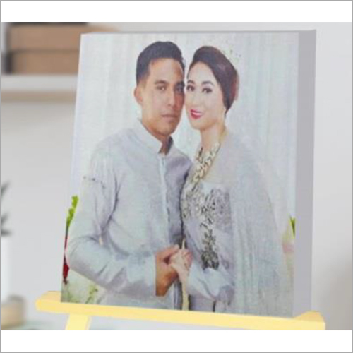 Canvas Wooden Photo Frame