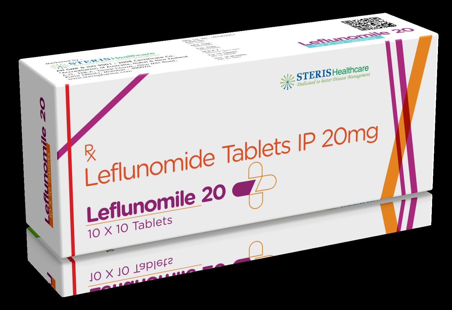 Leflunomide 10/20  Mg
