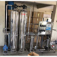 1000 LPH 304 RO Plant