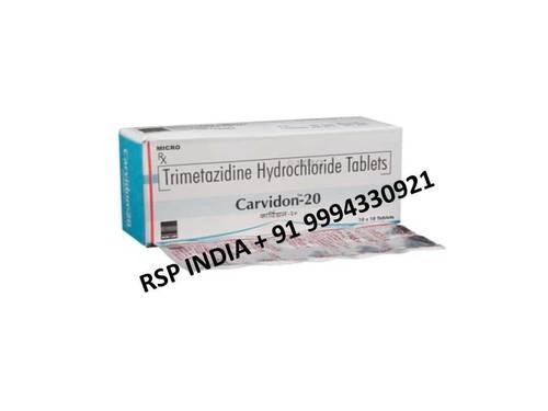 Carvidol  20mg Tablets