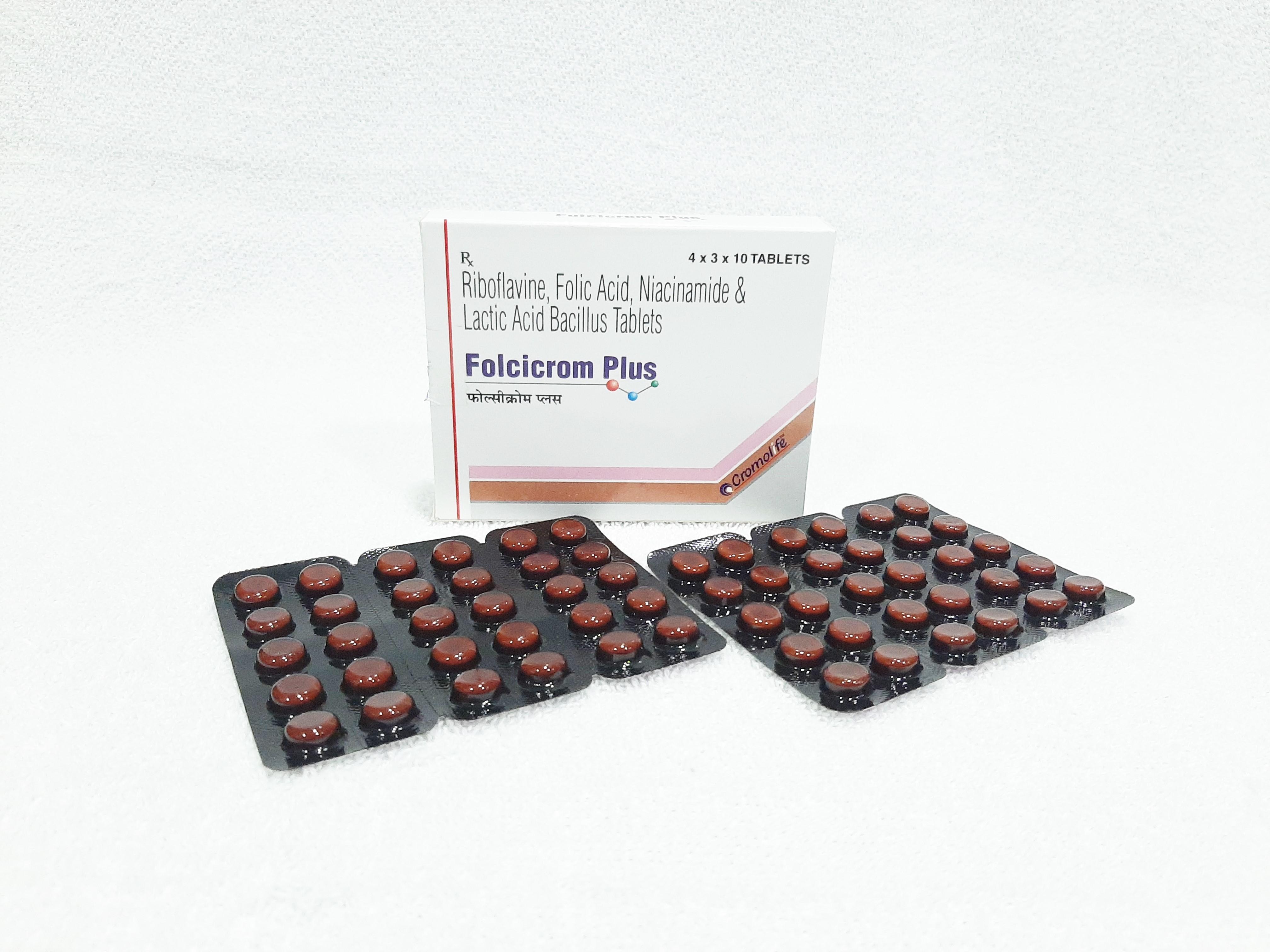 Riboflavine , Folic Acid , Niacinamide , & Amp,Lactic Acid Bacillus Million Spores Tablet