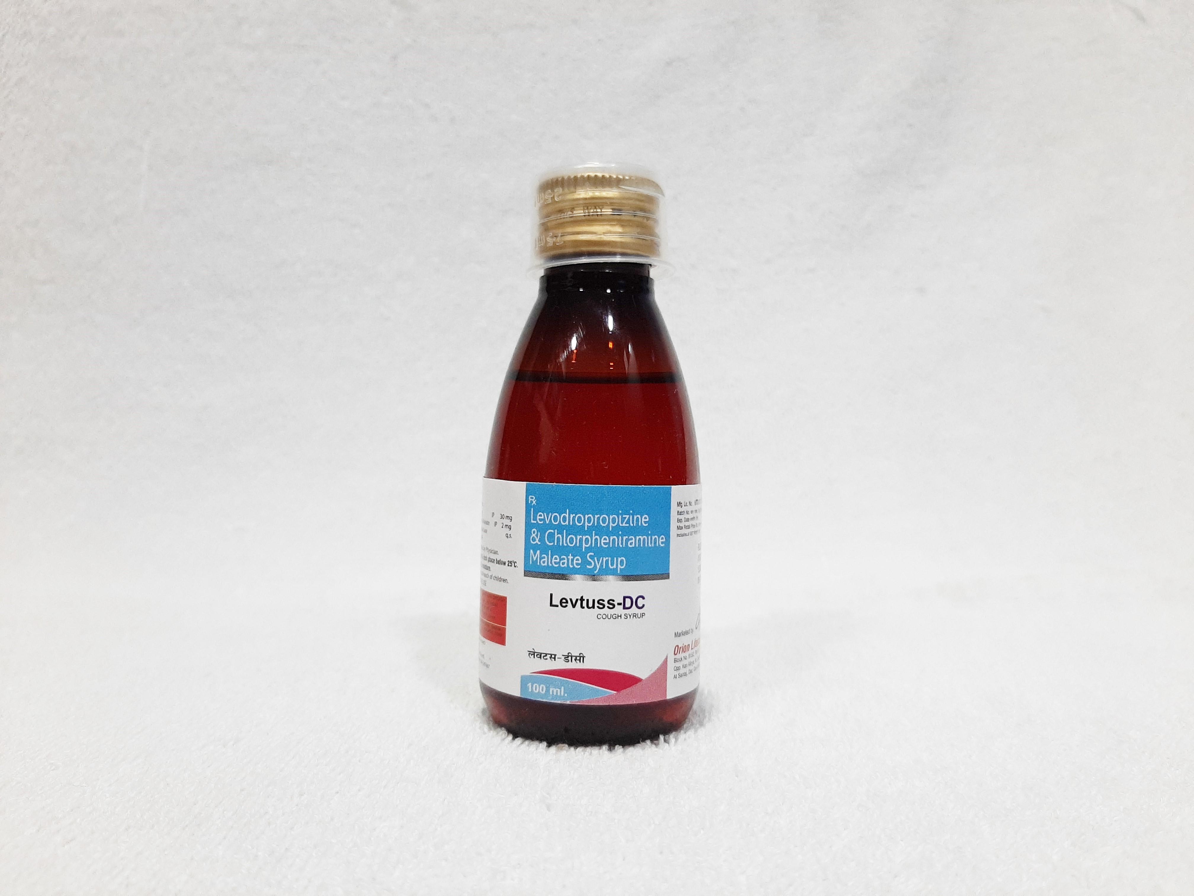 Levodropropazine And Chlorpheniramine Maleate Syrup