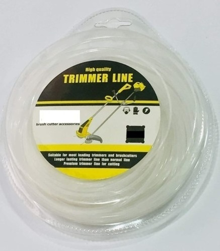 TRIMMER LINE 3MM 50MTR SQUARE WHITE