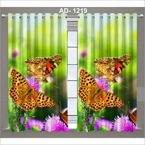 Multicolored Curtain Fabric