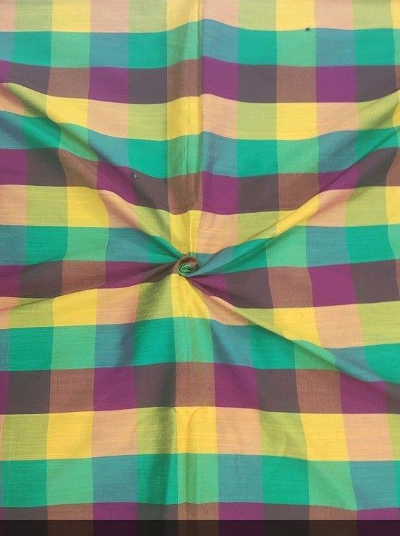 Banarasi Checks Fabric