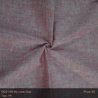 My Look Slub Fabric