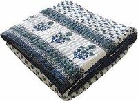 Multicolour Jaipuri Cotton AC Quilt Razai  for Winters