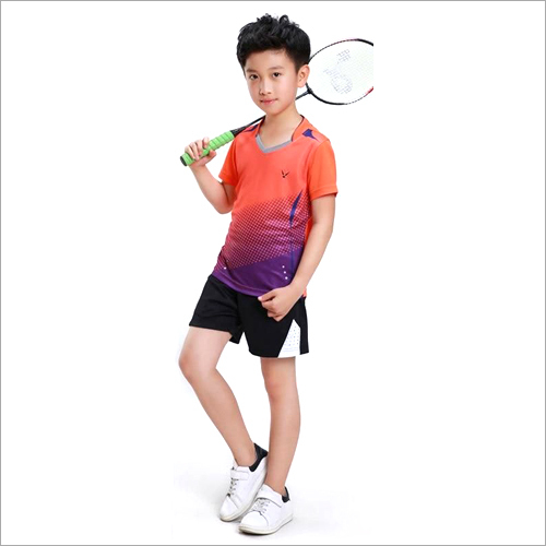 Kids Badminton Sports Wear