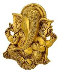 Brass Wall Hanging Om Swastika Ganesha