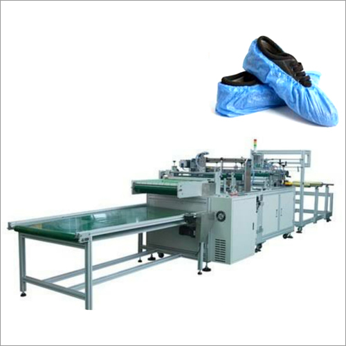 Now Woven Shoe Cover Making Machine
