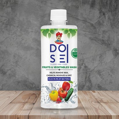 Red Fruit And Vegetable Wash Dose