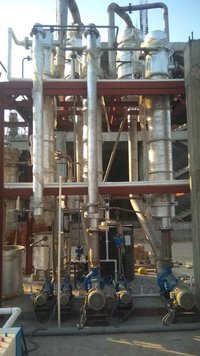Multiple effect evaporator