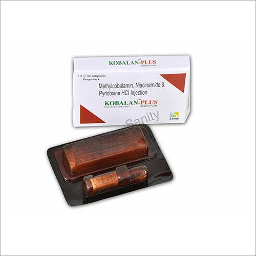 Methylcobalamin Niacinamide And Pyridoxine HCL Injection Kobalan Plus