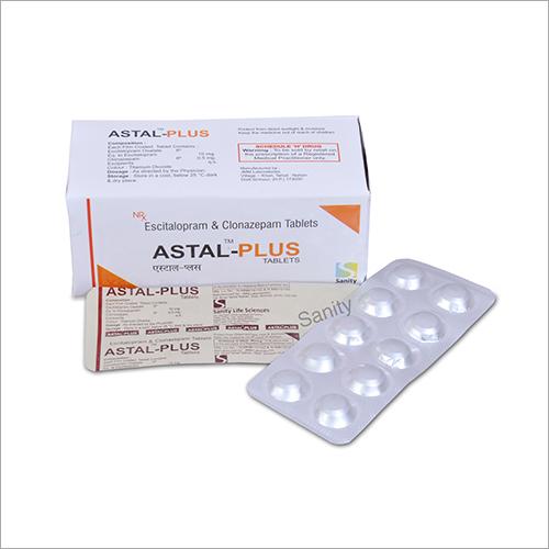 Escitalopram And Clonazepam Tablet