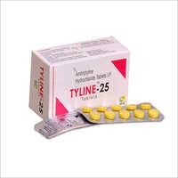 Amitriptyline Hydrochloride Tablet Tyline 25