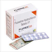 Fluoxetine Hydrochloride Tablet Fluden-20