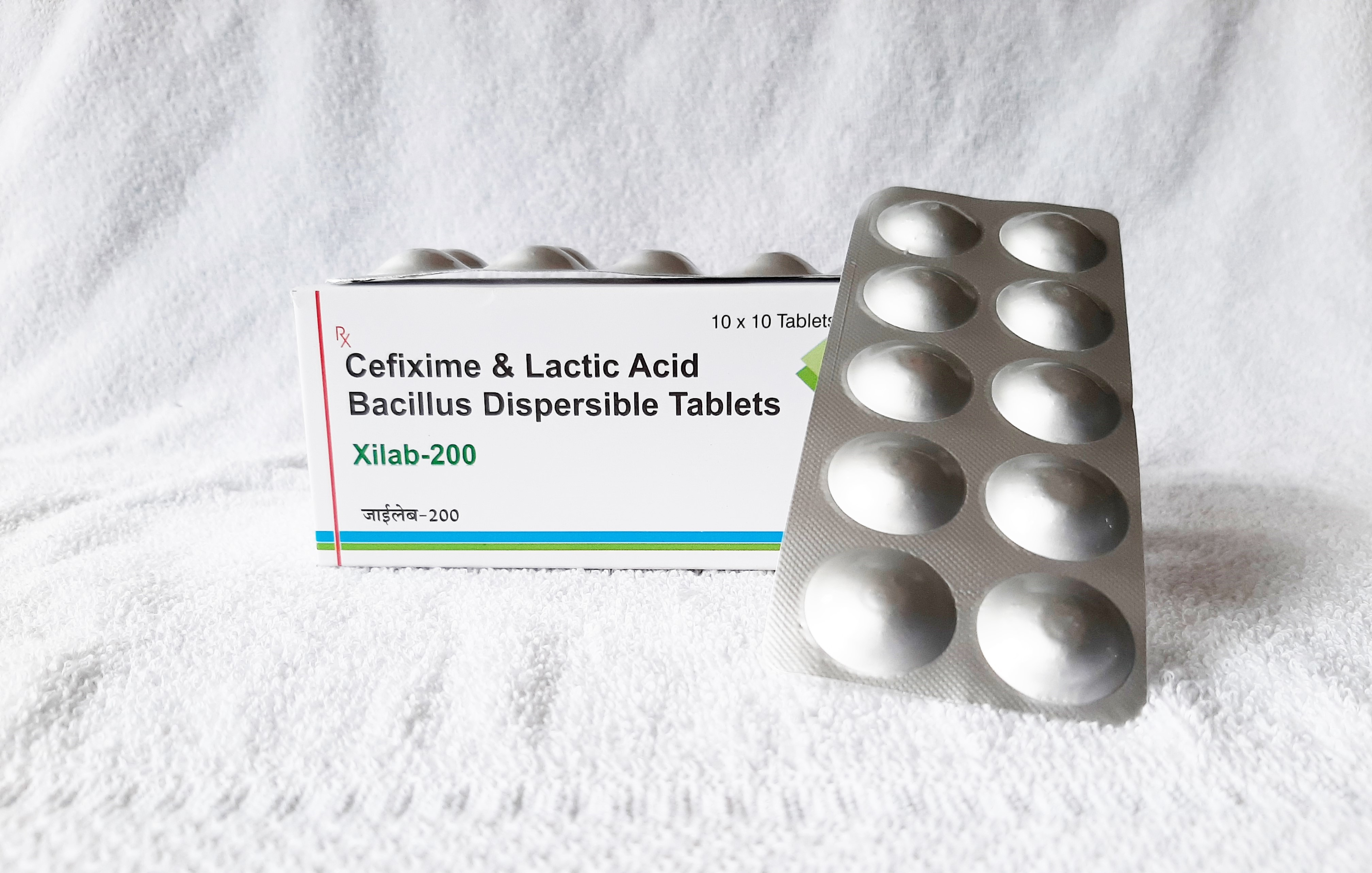 Cefixime and Lactic Acid Bacillus Allopathic Tablets