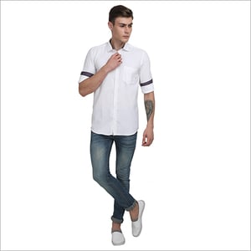 Mens Plain Formal Shirts