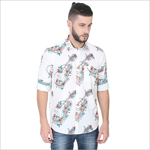 Mens Printed Fancy Shirts