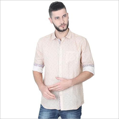 Mens Printed Slim Fit Shirts