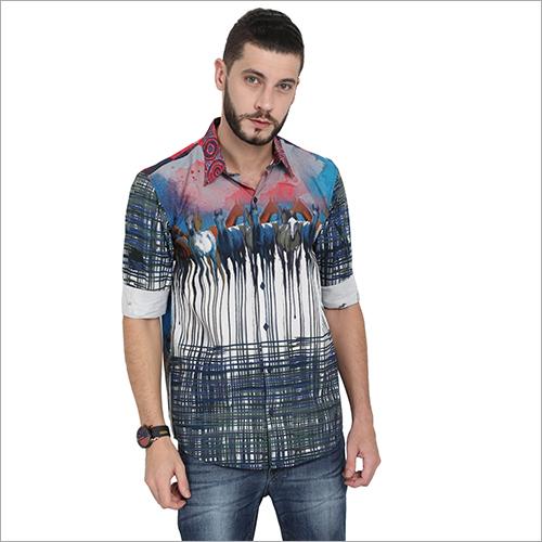 Mens Printed Stylish Shirts