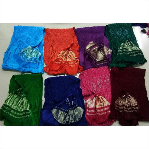 Art Gajji Silk Tissue Pallu Dupatta