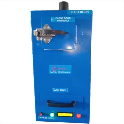 Blue Face Mask Disposer Sanitary Napkin Incinerator Machine