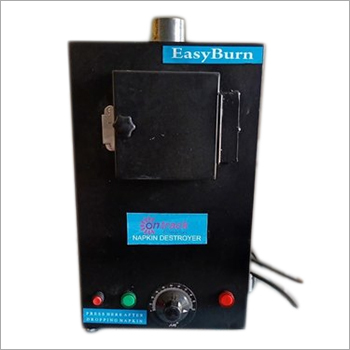 Electric Portable Sanitary Napkin Disposal Machine