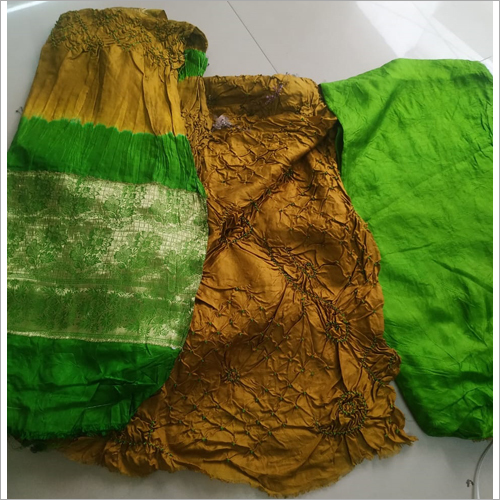 Pure Bangalori Silk Fancy Suit Material