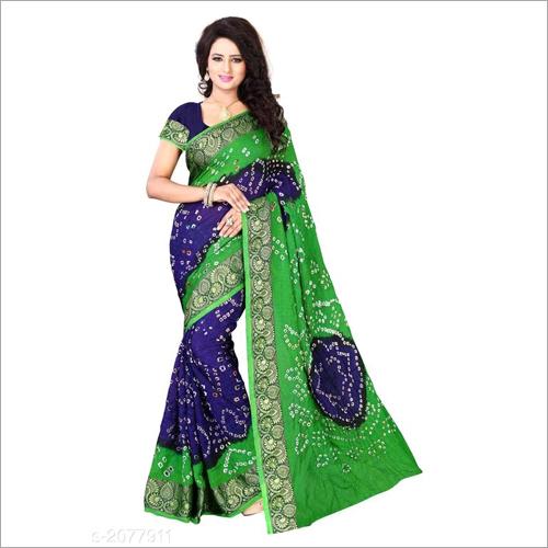 Jacquard Silk Rangoli Saree