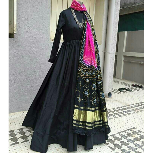 Ladies Pure Gajji Silk Dupatta