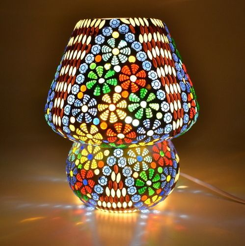Glass Mosaic Table Lamp