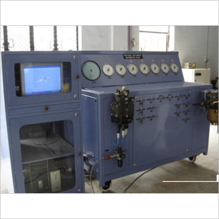 Numeric Controlled Railway Test Rig