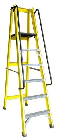FRP GRP Foldable Platform Ladder